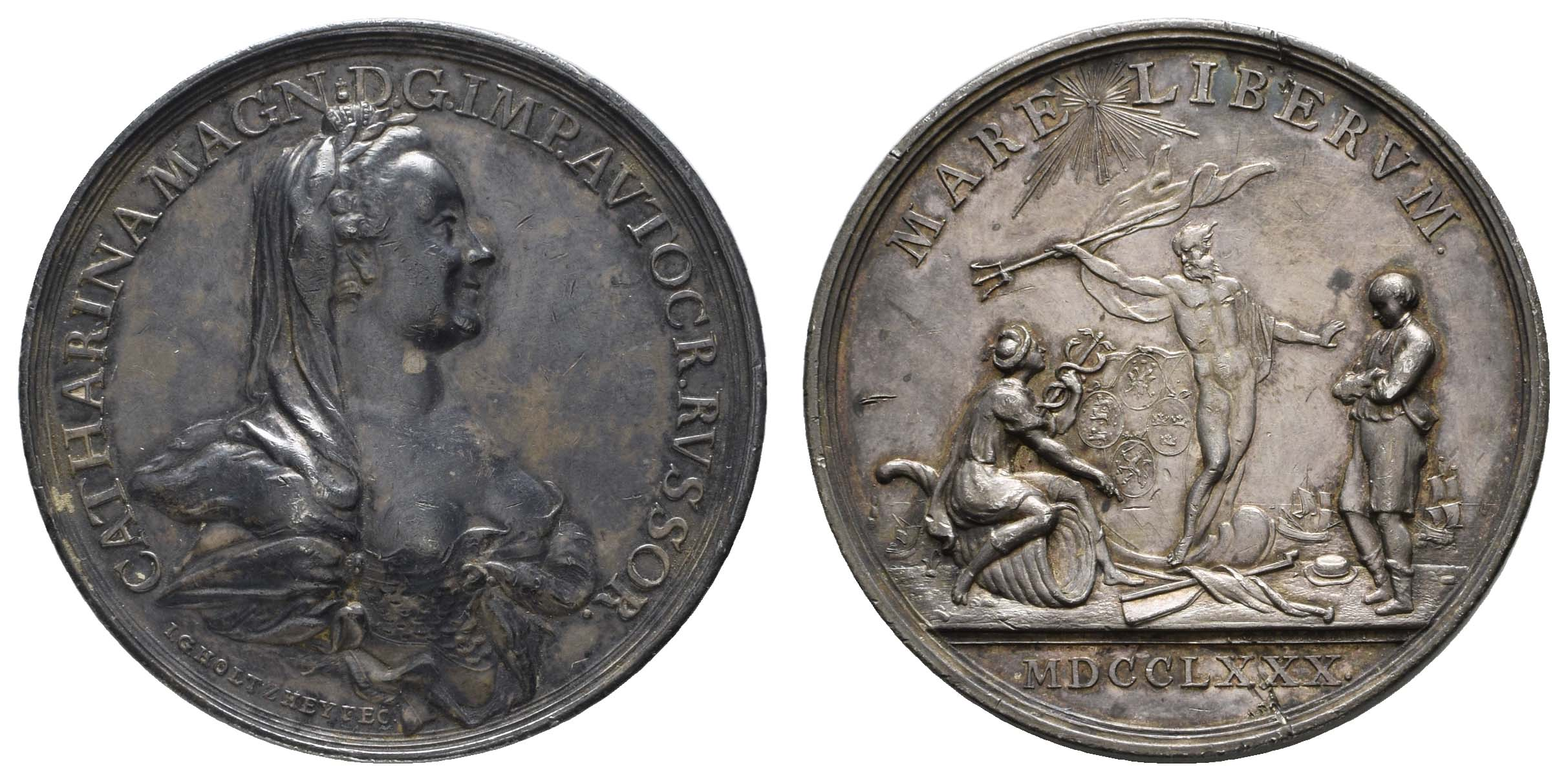 Lot 1212 - Europa_bis 1799_Russland  -  Auktionshaus Ulrich Felzmann GmbH & Co. KG Auction 170 International Autumn Auction 2020 Day 1