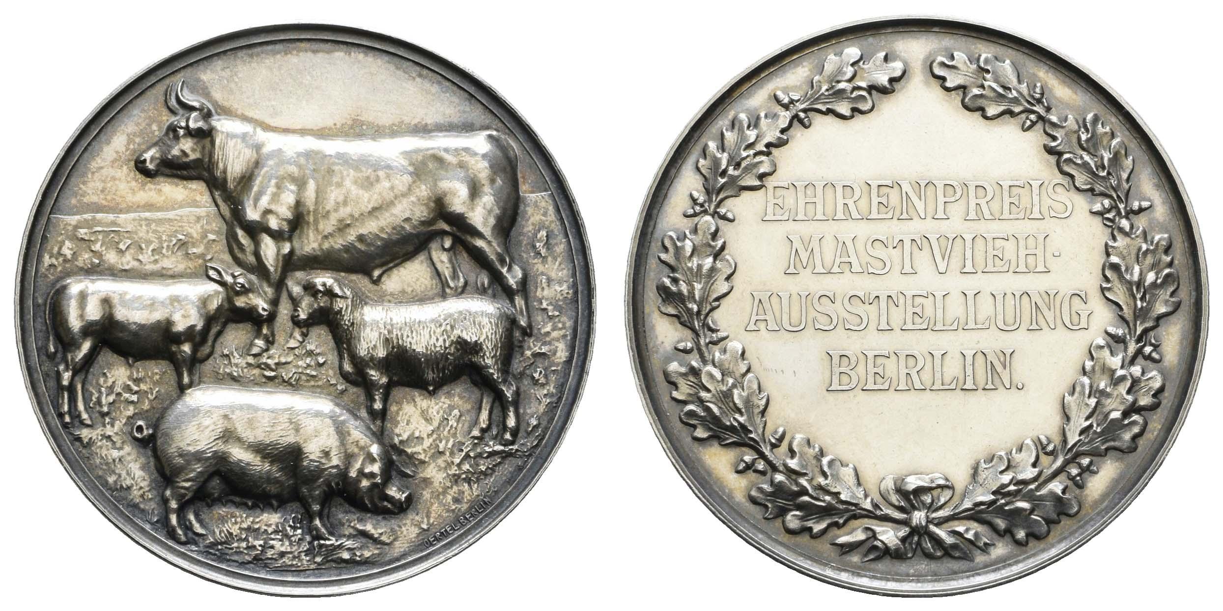 Lot 1808 - Medaillen_Sonstige Medaillen_Deutschland  -  Auktionshaus Ulrich Felzmann GmbH & Co. KG Auction 170 International Autumn Auction 2020 Day 2