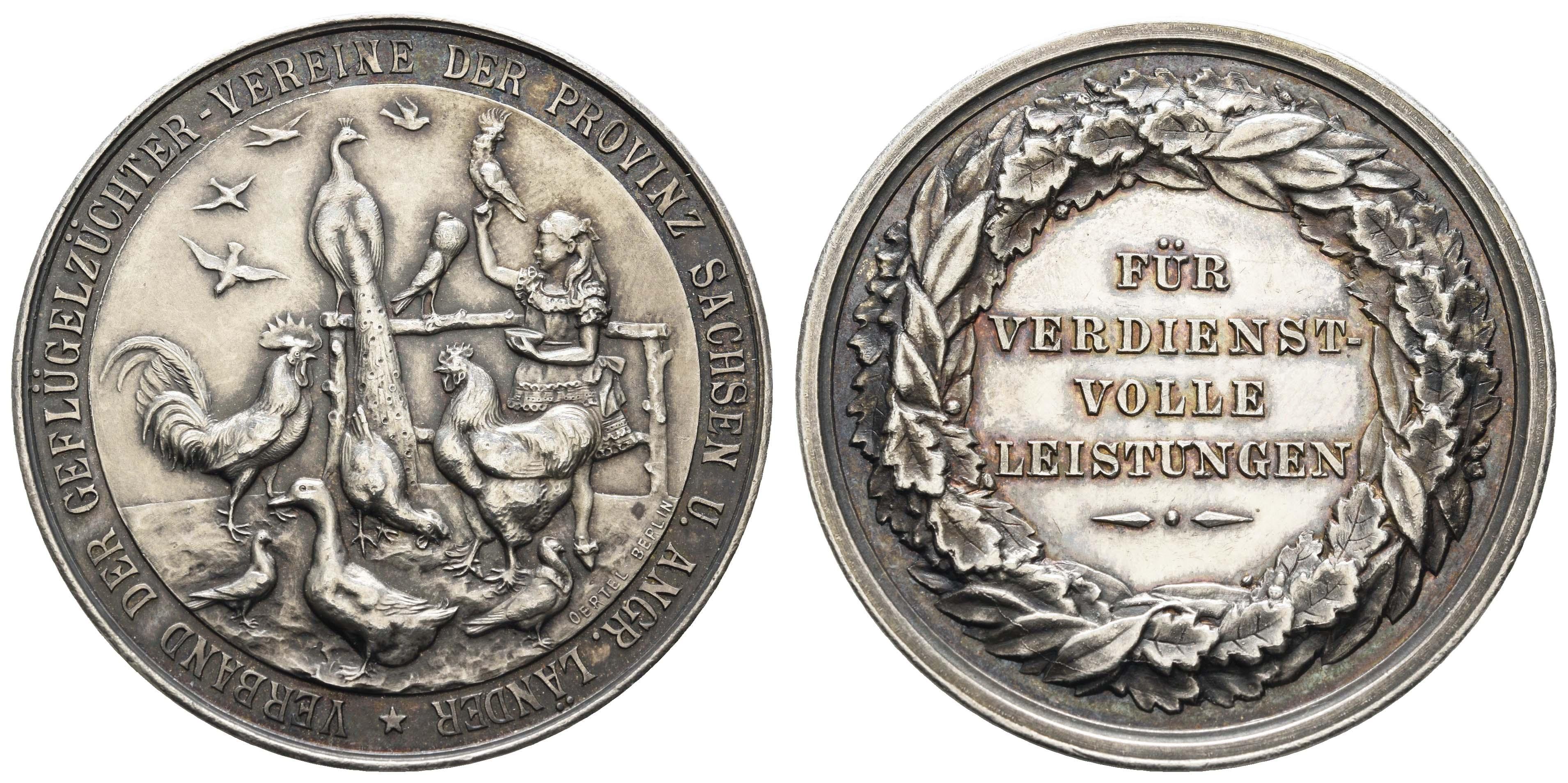 Lot 1811 - Medaillen_Sonstige Medaillen_Deutschland  -  Auktionshaus Ulrich Felzmann GmbH & Co. KG Auction 170 International Autumn Auction 2020 Day 2