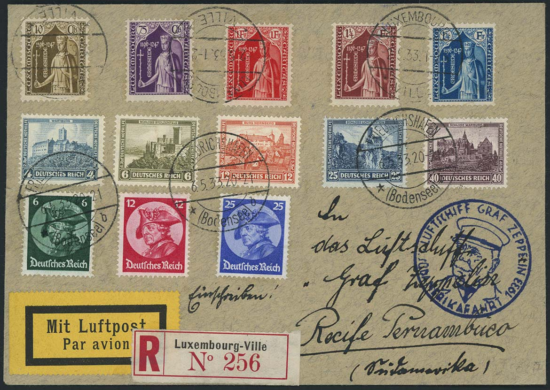 Lot 3465 - Zuleitungen_Europa A-Z_Luxemburg  -  Auktionshaus Ulrich Felzmann GmbH & Co. KG Auction 170 International Autumn Auction 2020 Day 3