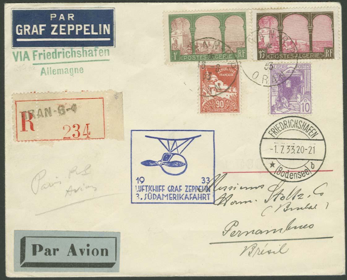 Lot 3568 - Zuleitungen_Übersee A-Z_Algerien  -  Auktionshaus Ulrich Felzmann GmbH & Co. KG Auction 170 International Autumn Auction 2020 Day 3