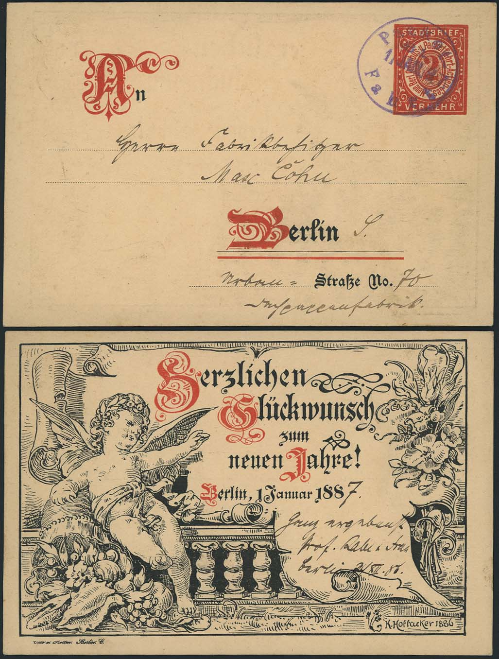 Lot 4188 - Deutsches Reich_Deutsche Privatpostanstalten A-Z  -  Auktionshaus Ulrich Felzmann GmbH & Co. KG Auction 170 International Autumn Auction 2020 Day 4