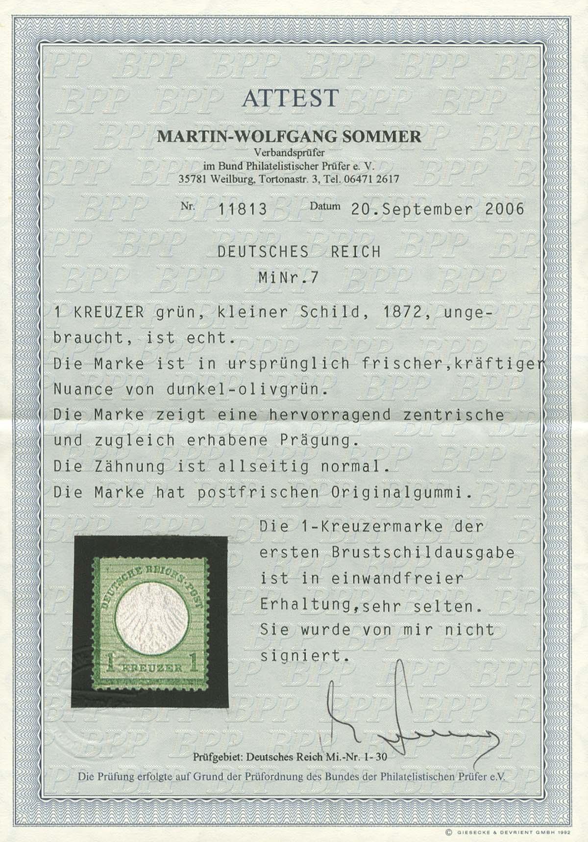 Lot 4192 - Deutsches Reich_Brustschilde  -  Auktionshaus Ulrich Felzmann GmbH & Co. KG Auction 170 International Autumn Auction 2020 Day 4