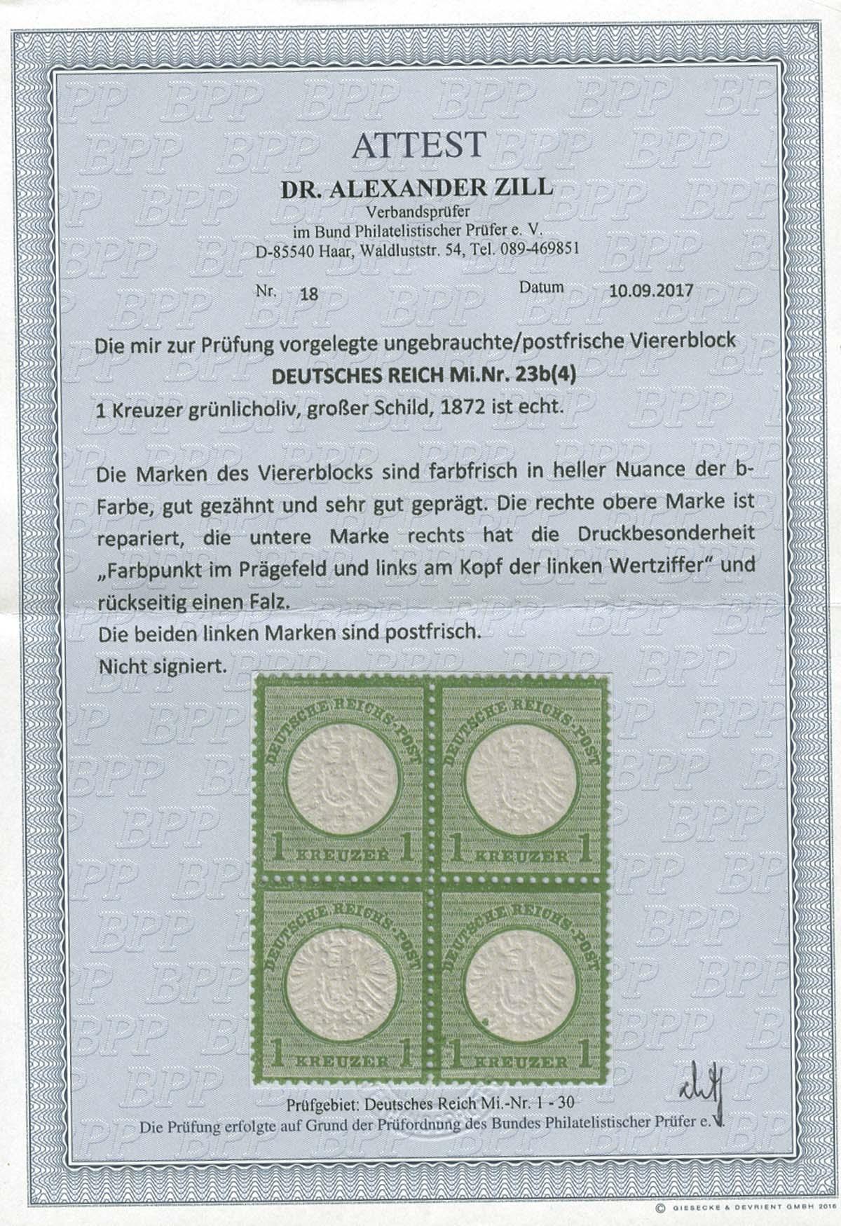 Lot 4204 - Deutsches Reich_Brustschilde  -  Auktionshaus Ulrich Felzmann GmbH & Co. KG Auction 170 International Autumn Auction 2020 Day 4