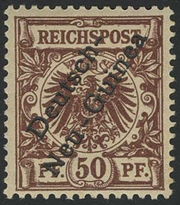 Lot 4464 - Auslandspostämter & Kolonien_Deutsch-Neuguinea_Markenausgaben  -  Auktionshaus Ulrich Felzmann GmbH & Co. KG Auction 170 International Autumn Auction 2020 Day 4