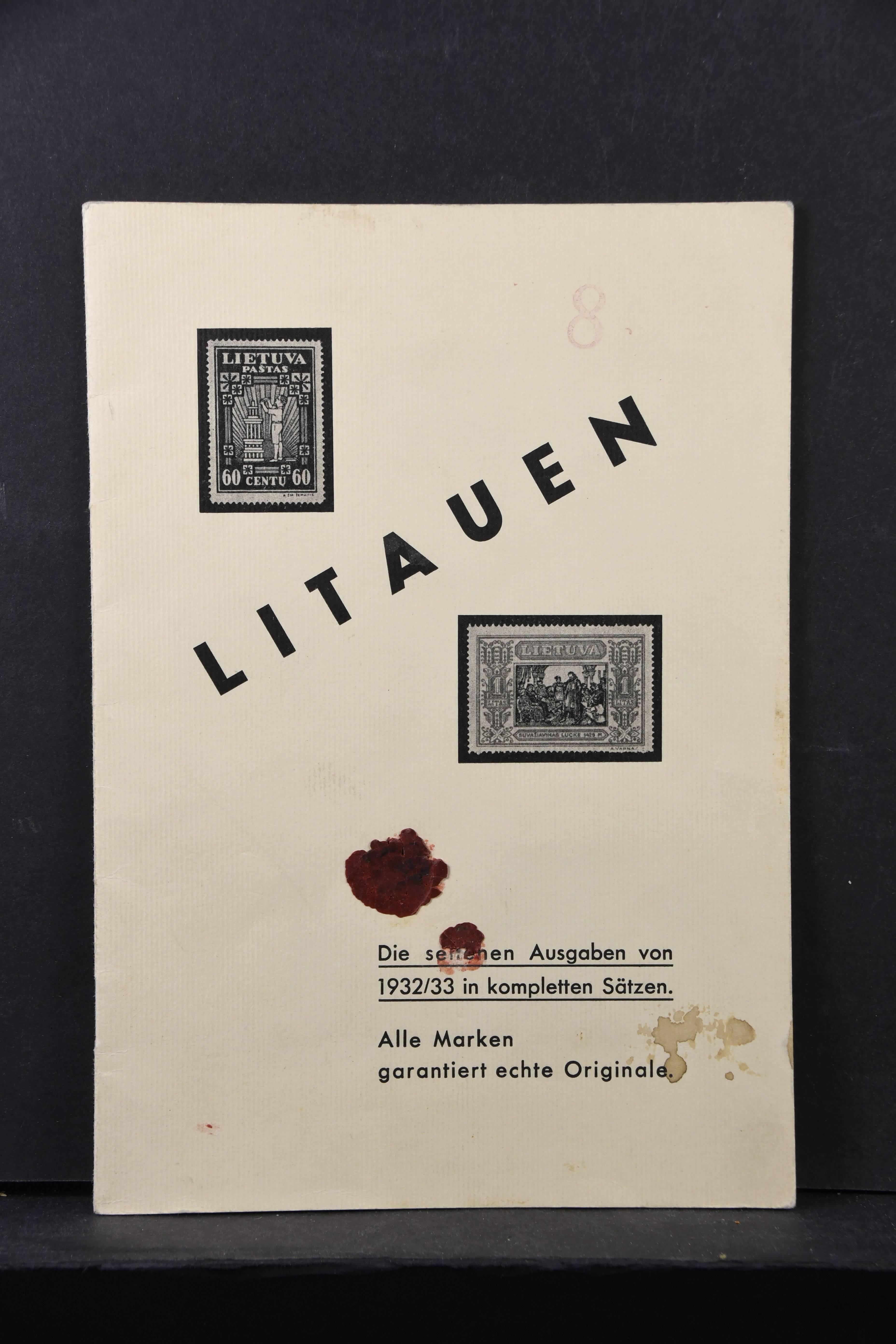 Lot 6751 - Europa A-Z_Baltikum S -  Auktionshaus Ulrich Felzmann GmbH & Co. KG Auction 170 International Autumn Auction 2020 Day 5